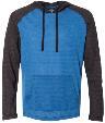 8127 - Yarn-Dyed Raglan Hooded Pullover