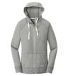 LNEA122 - Ladies' Sueded Cotton Full-Zip Hoodie